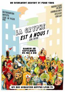 """Festival """"La gryphe est à nous!"""""""