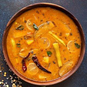 SAMBAR (soupe d'Inde du Sud)